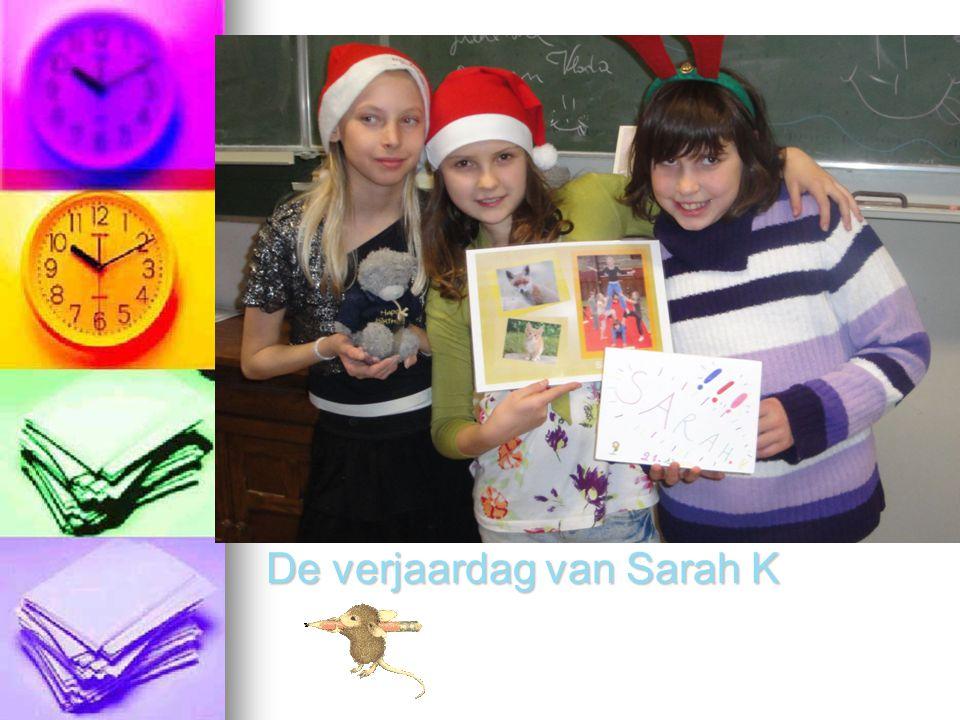 De verjaardag van Sarah K