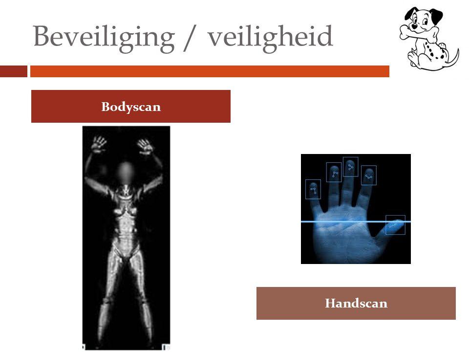 Beveiliging / veiligheid Bodyscan Handscan