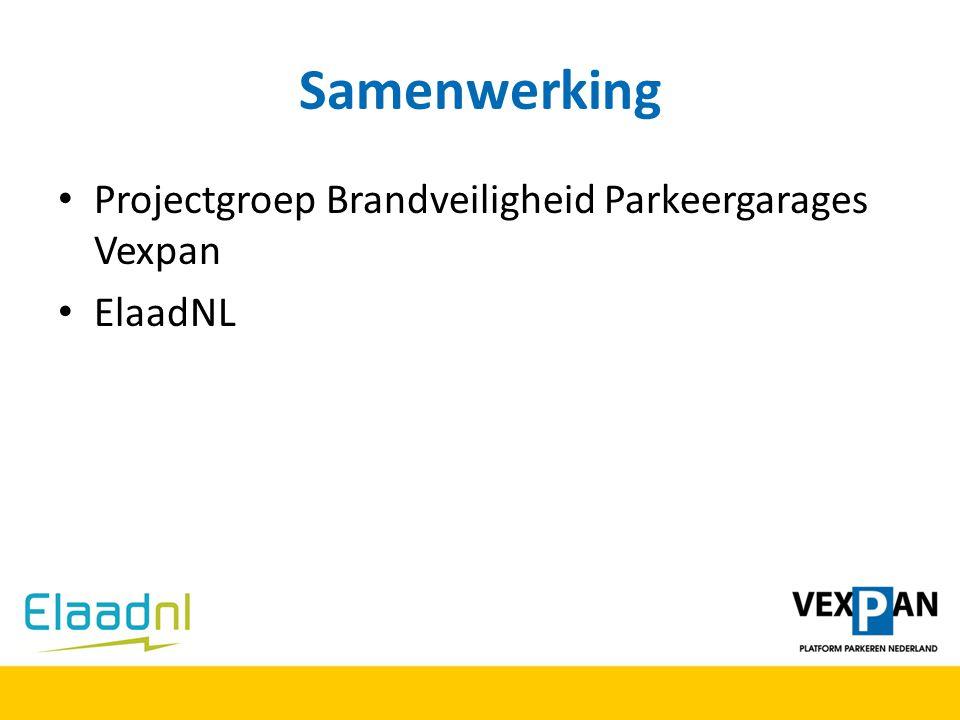 Samenwerking Projectgroep Brandveiligheid Parkeergarages Vexpan ElaadNL