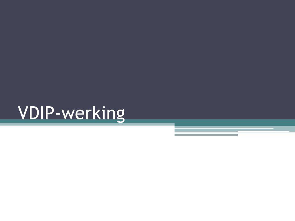 VDIP-werking