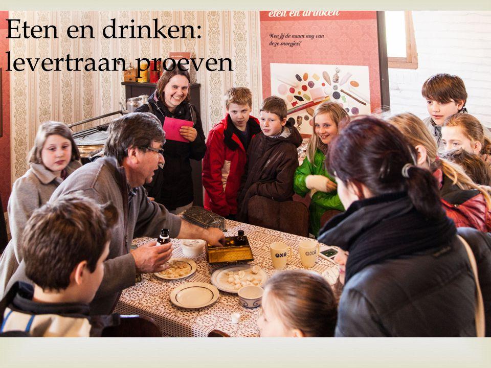 Eten en drinken: levertraan proeven