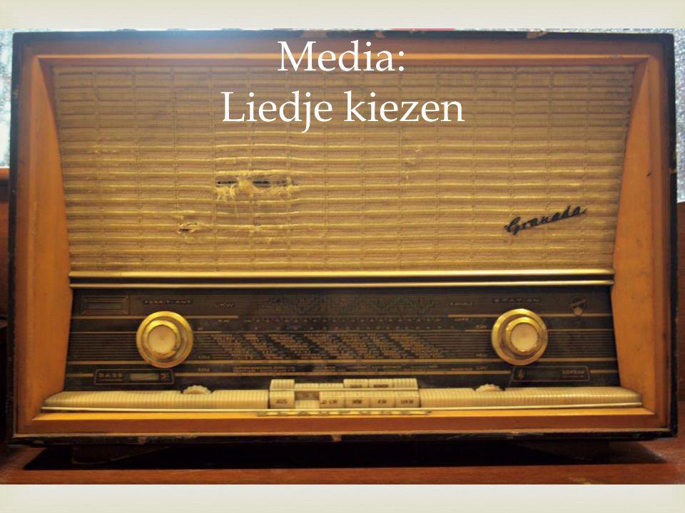  Media: Liedje kiezen