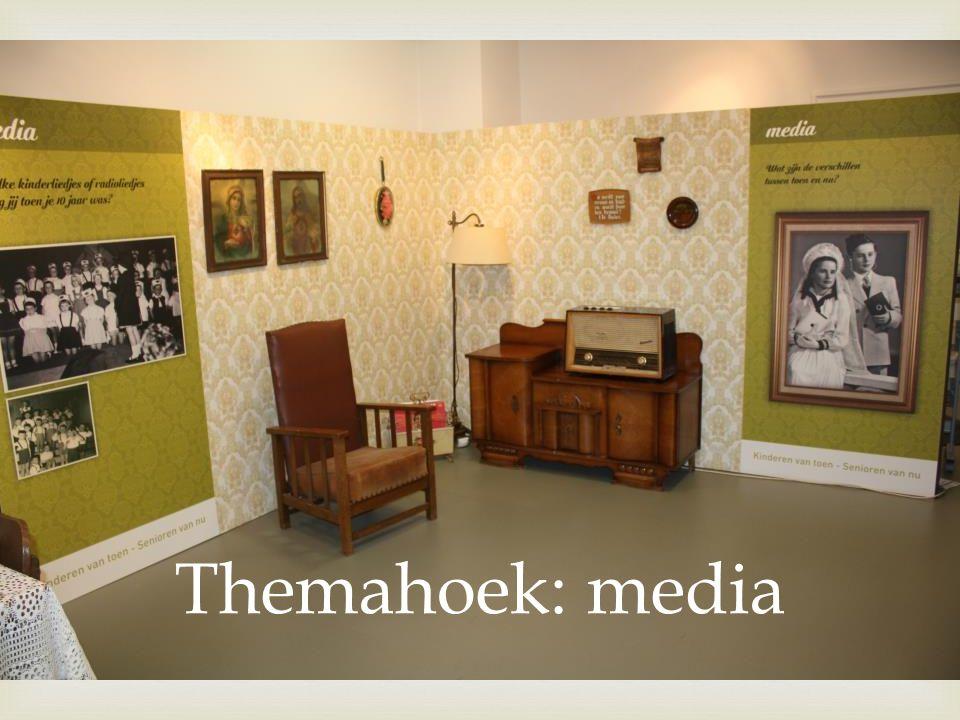  Themahoek: media