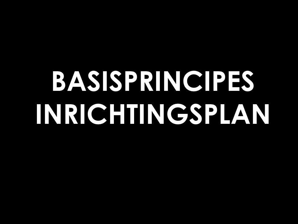Optimalisatie bedrijventerreinen Aarschot BASISPRINCIPES INRICHTINGSPLAN