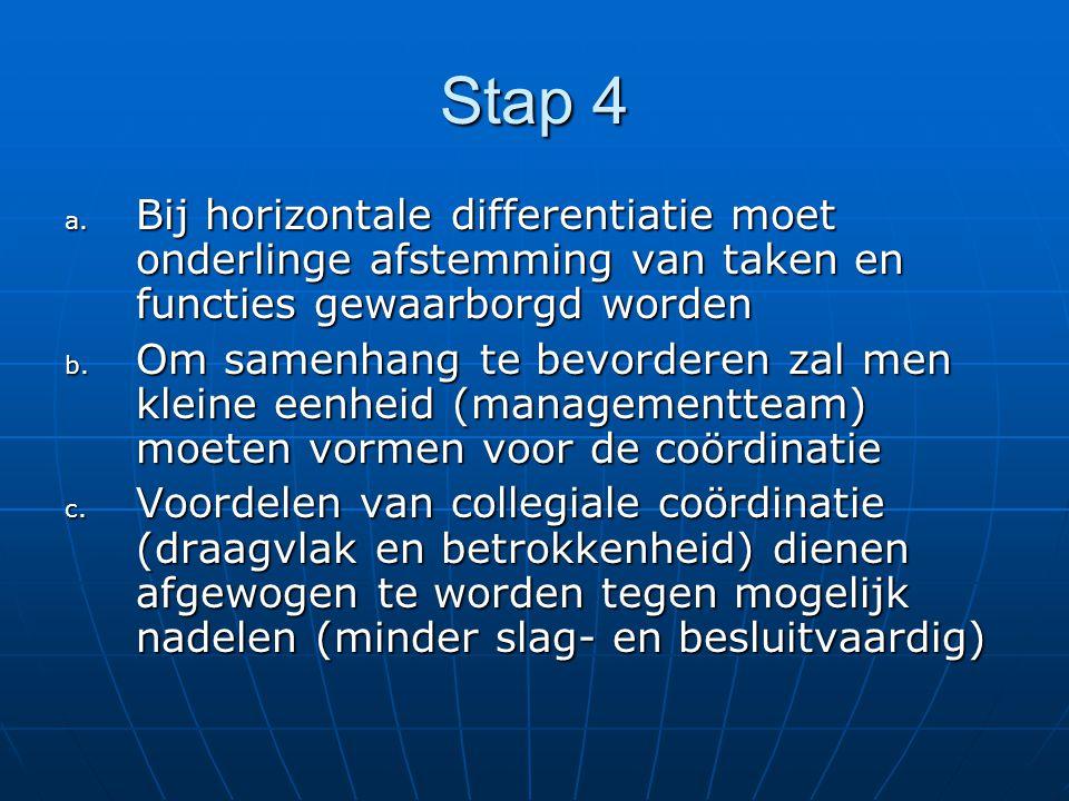 Stap 4 a.