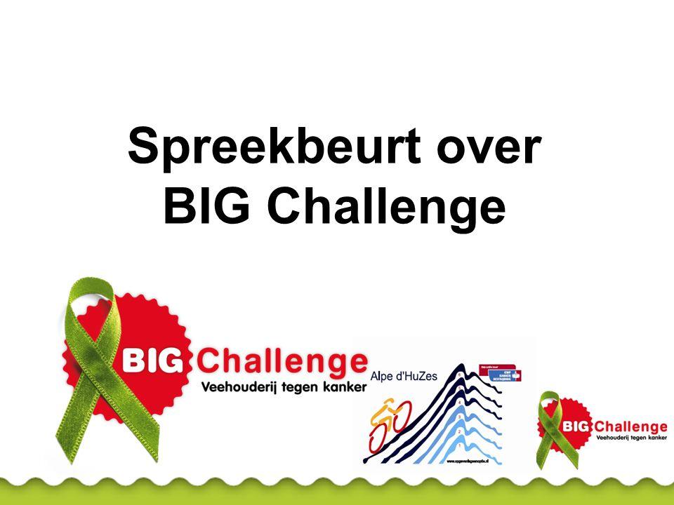 Wat is BIG Challenge.