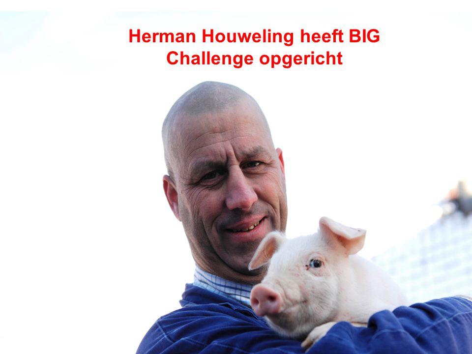 Herman Houweling heeft BIG Challenge opgericht