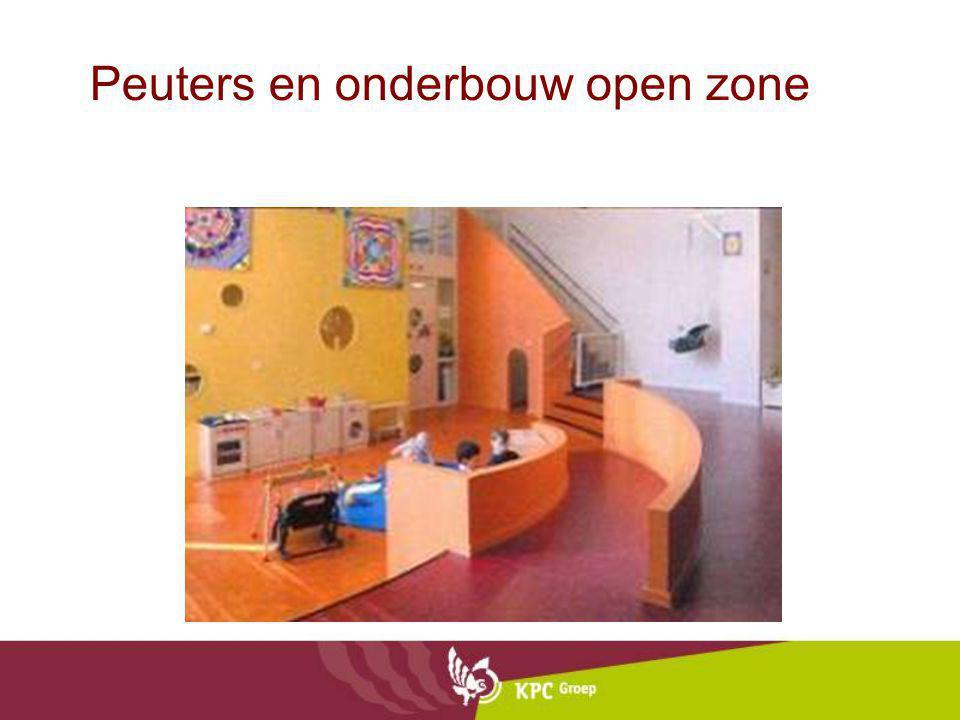 Peuters en onderbouw open zone