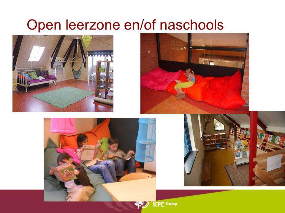 Open leerzone en/of naschools ontspannen