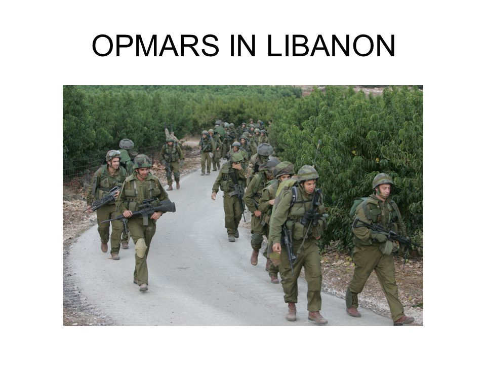 OPMARS IN LIBANON