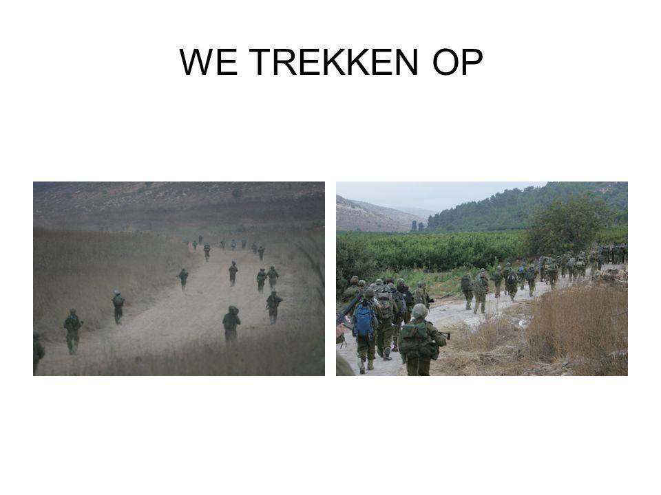 WE TREKKEN OP