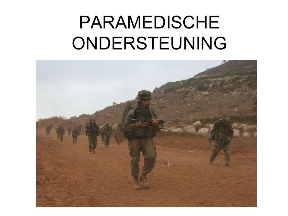 PARAMEDISCHE ONDERSTEUNING