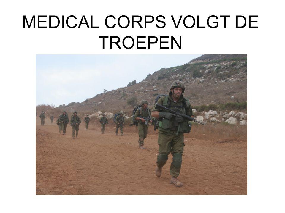 MEDICAL CORPS VOLGT DE TROEPEN