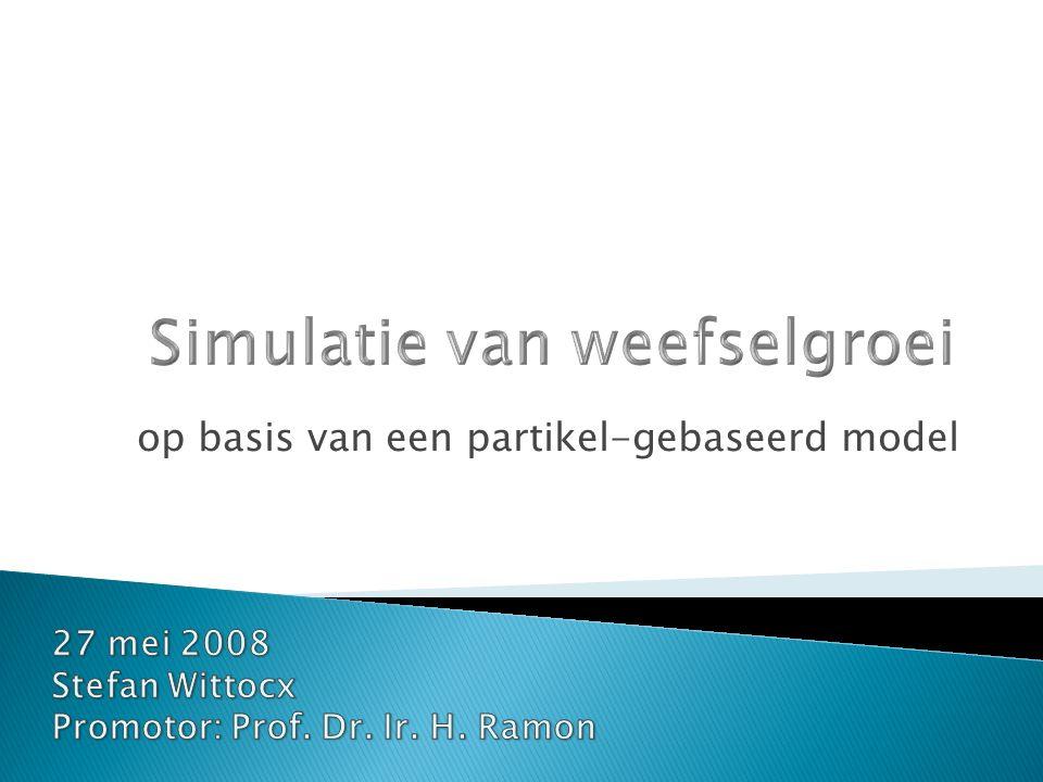  Inleiding  Overzicht celbiologie  Model  Simulatie  Besluit 2