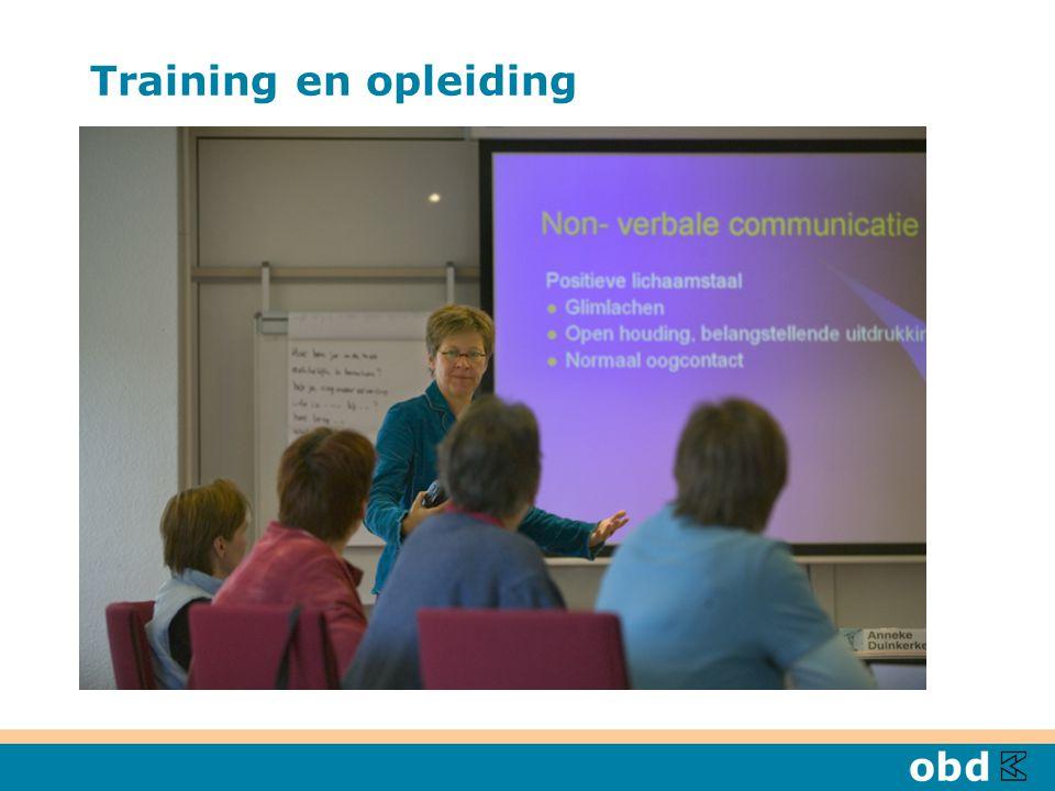 Training en opleiding