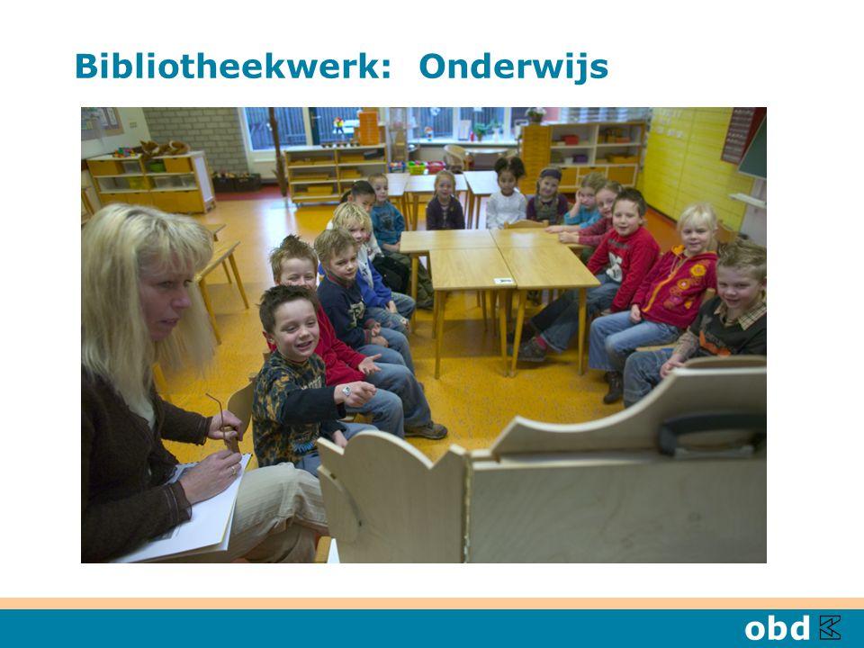 Bibliotheekwerk: Onderwijs