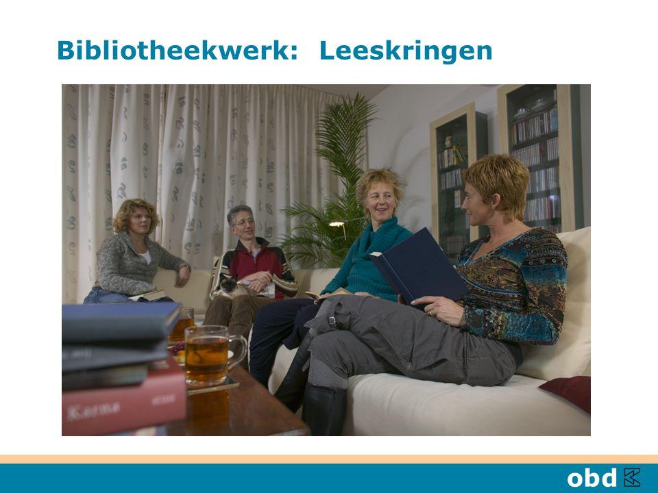 Bibliotheekwerk: Leeskringen