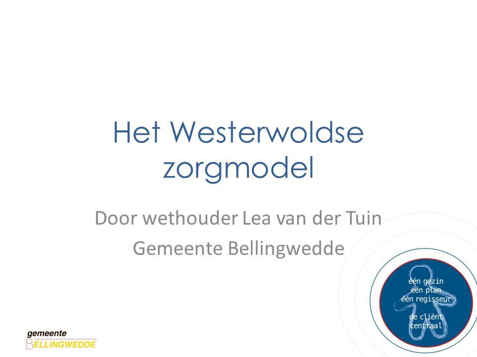 Het Westerwoldse zorgmodel Door wethouder Lea van der Tuin Gemeente Bellingwedde