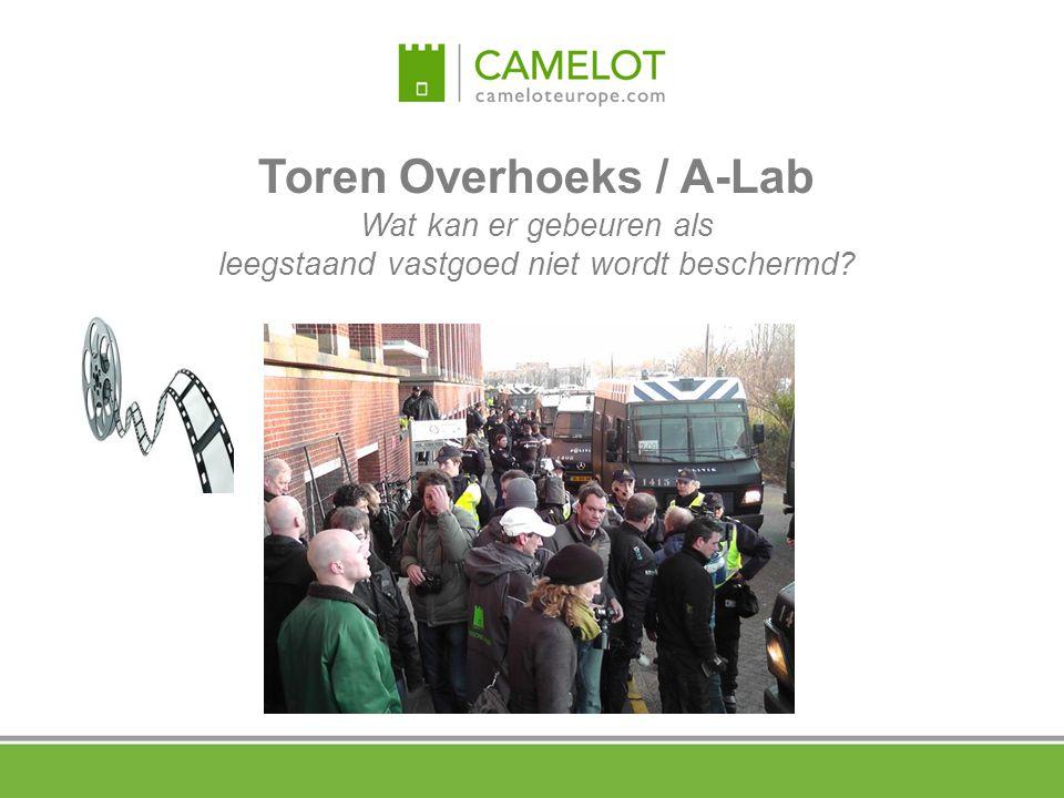 Toren Overhoeks / A-Lab Wat kan er gebeuren als leegstaand vastgoed niet wordt beschermd?