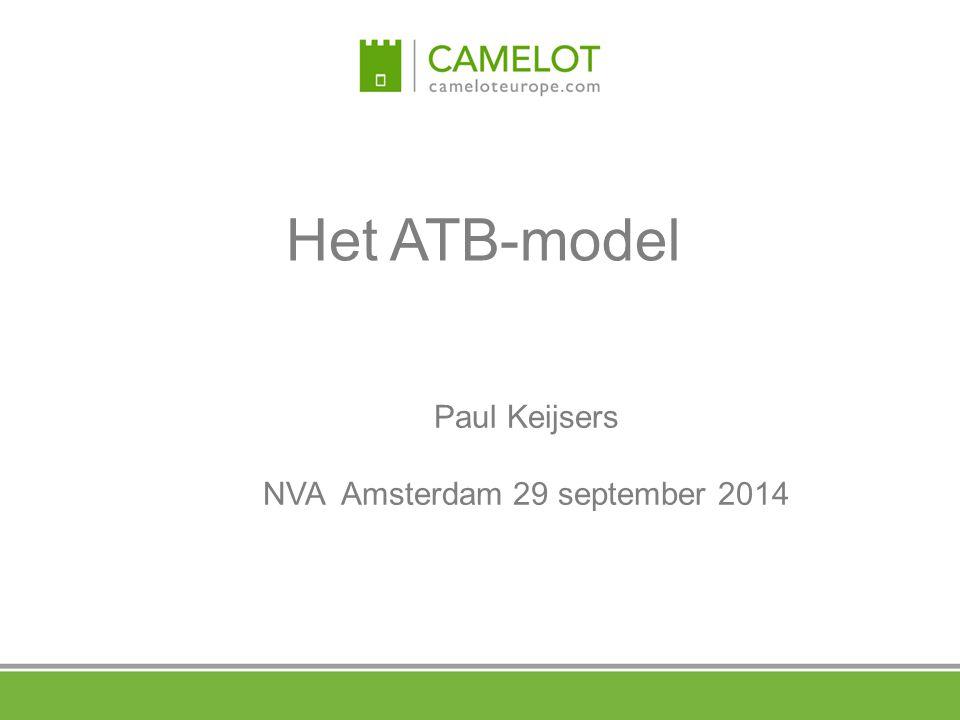 Het ATB-model Paul Keijsers NVA Amsterdam 29 september 2014