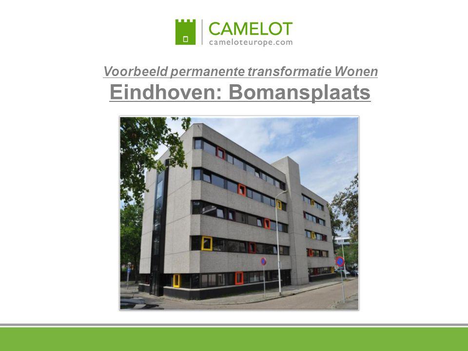 Voorbeeld permanente transformatie Wonen Eindhoven: Bomansplaats