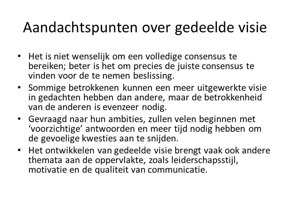 Case: verzorgingshuis in Nederland Alle organisaties in Nederland kennen ondernemingsraden die meepraten over het gevoerde beleid Dit sluit aan bij empowerment: het mogelijk maken voor de professional dat hij of zij eigen beslissingen neemt binnen het eigen gebied van verantwoordelijkheid, al dan niet met anderen.