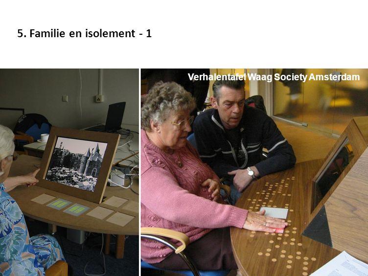 5. Familie en isolement - 1 Verhalentafel Waag Society Amsterdam