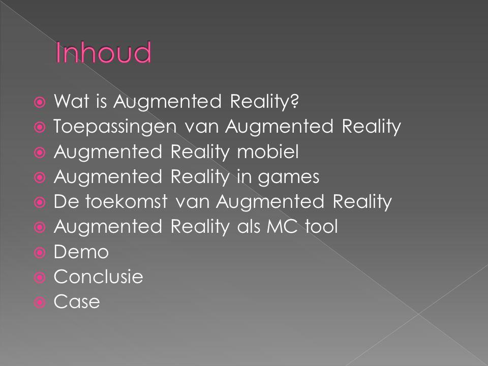  Toepassingen van Augmented Reality zijn leuk en aardig, maar echt nuttig zijn ze nog niet.