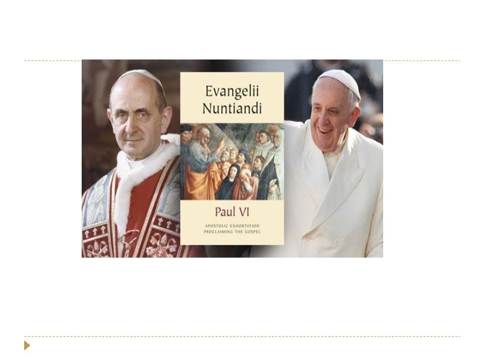 Ad Gentes (Vat II)  Missie 'ad extra' en 'ad intra'  de volkeren die veraf zijn  toenemende ongeloof in de moderne wereld (secularisme) / naamchristenen  het versterken van het noodzakelijk voedsel en onderhoud voor het geloof van de gelovigen