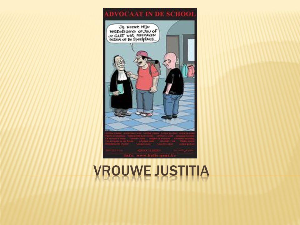 Jusitiehuis = een aanspreekpunt voor alle vragen in verband met het gerecht > Verleent ook bijstand aan slachtoffers tijdens een gerechtelijke procedure