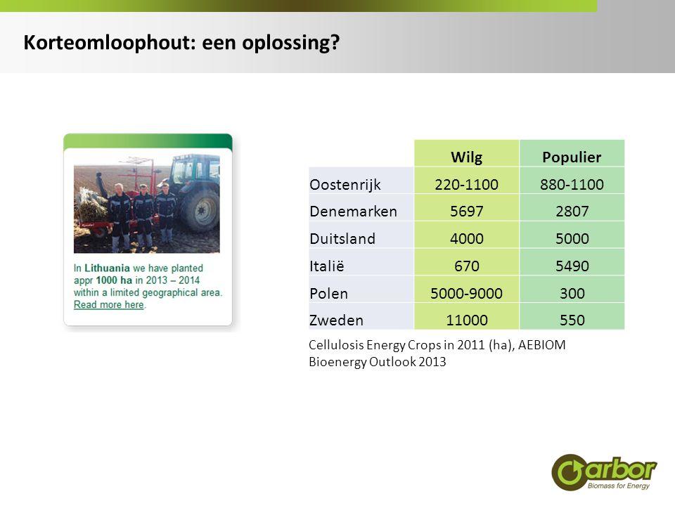 (West-)Vlaanderen: mogelijk bruikbare terreinen voor korteomloophout  Landbouwareaal  Bermen  Vervuilde gronden  Industriegebied  onbenutte terreinen  bufferzones  groenscherm Ruimte voor korteomloophout