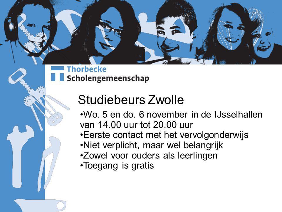 Studiebeurs Zwolle Wo.5 en do.