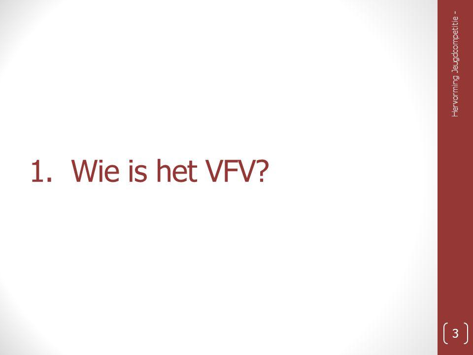 1. Wie is het VFV? Hervorming Jeugdcompetitie - 3