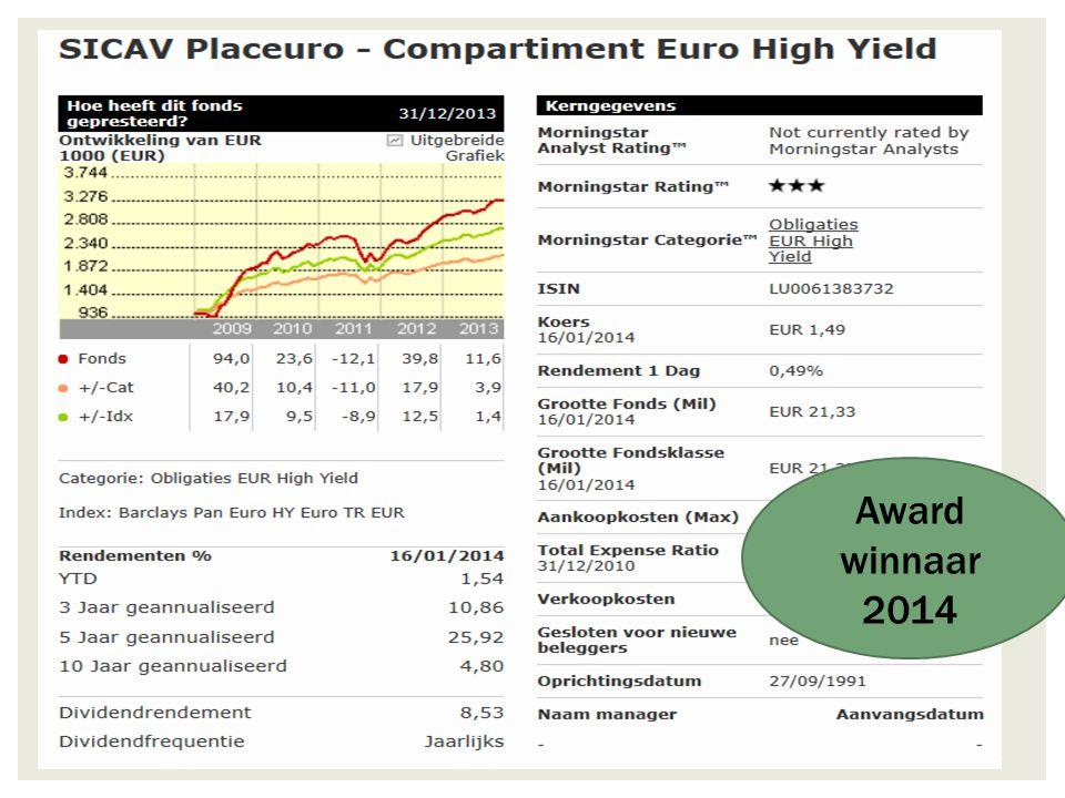 22/11/2014 26 Één der beste wereldfondse n in aandelen