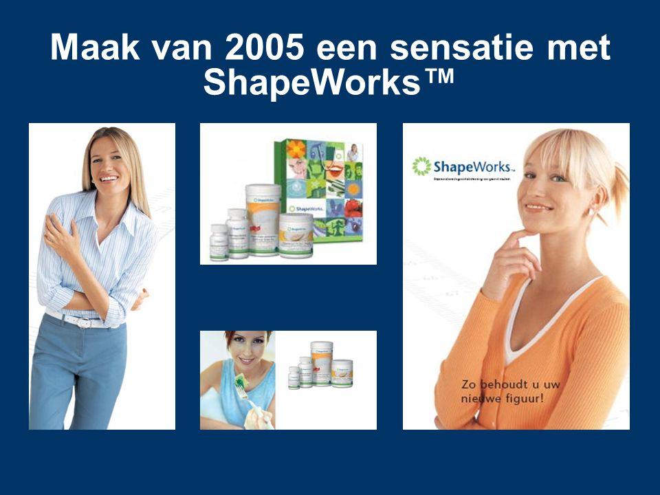 Maak van 2005 een sensatie met ShapeWorks™