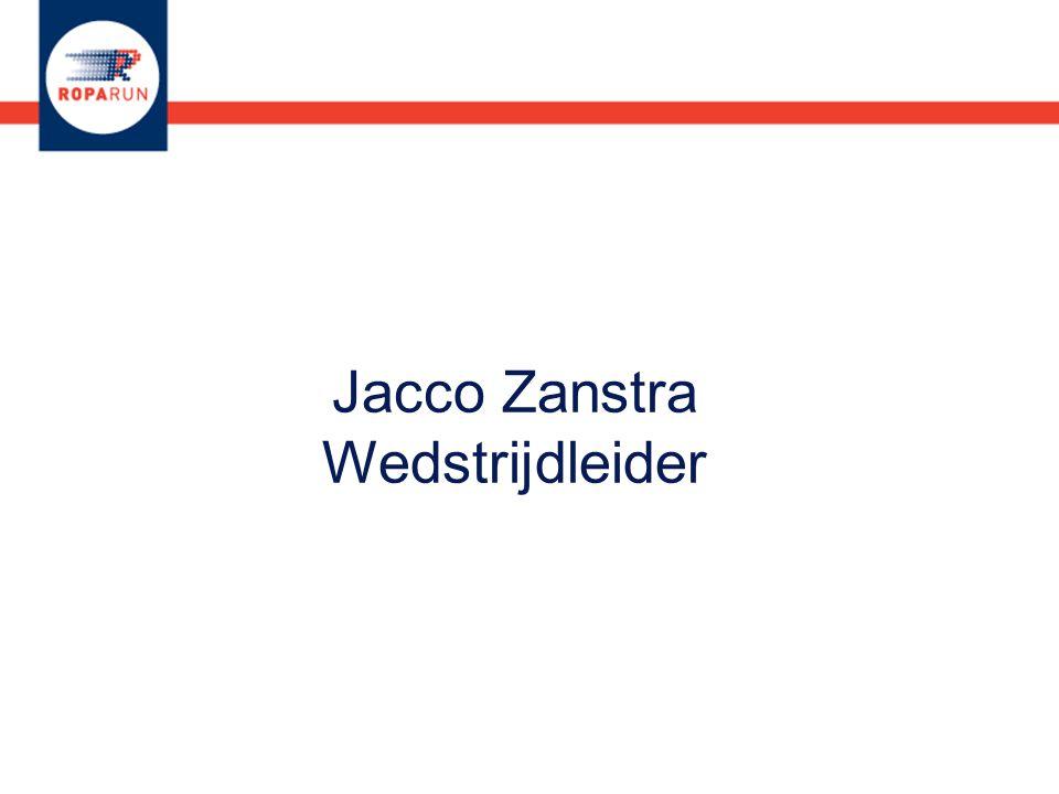 Jacco Zanstra Wedstrijdleider