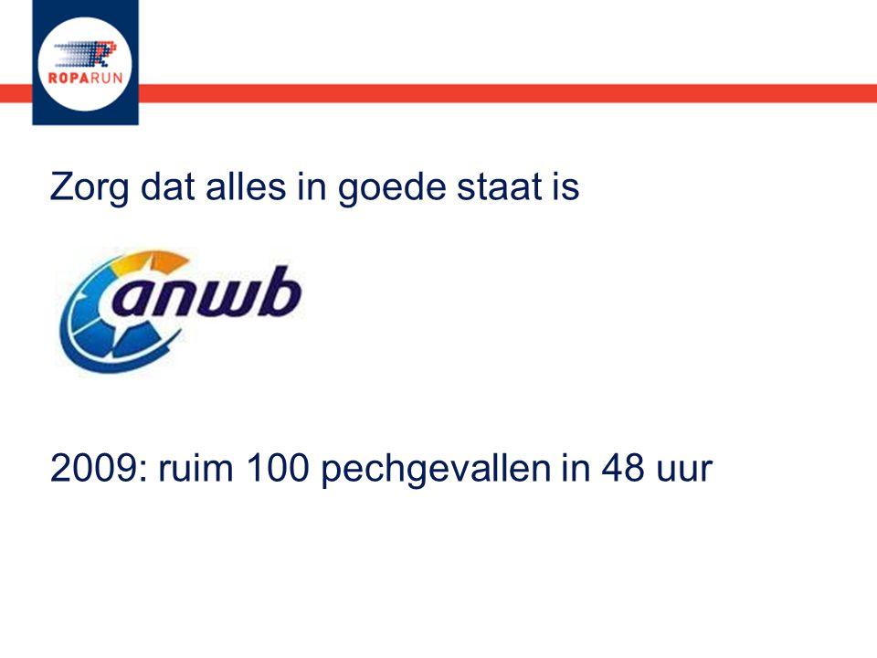 2009: ruim 100 pechgevallen in 48 uur