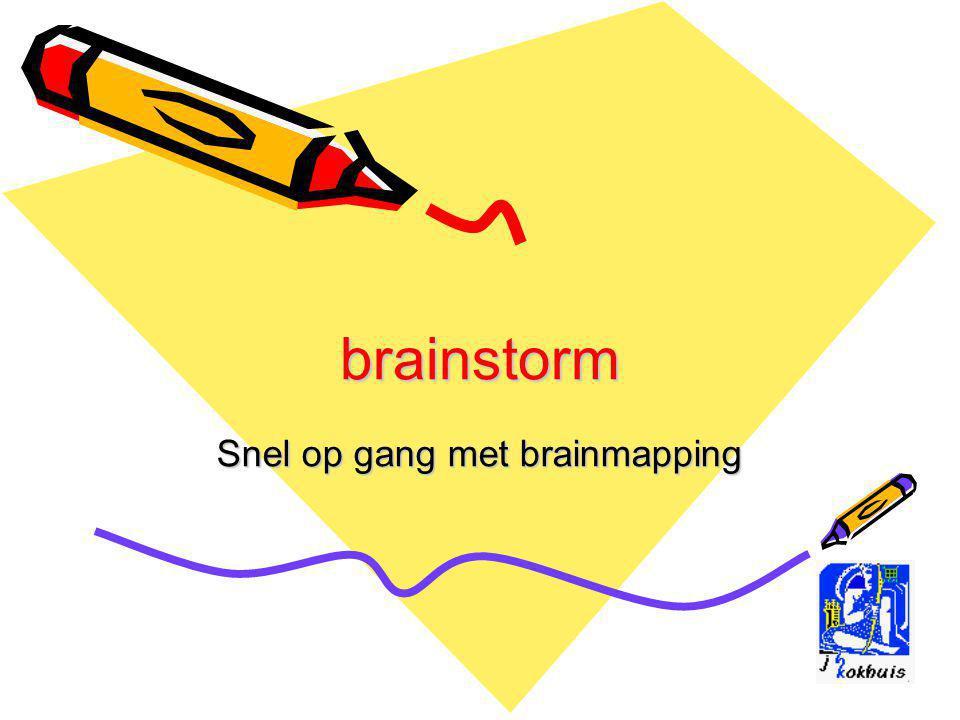brainstorm Snel op gang met brainmapping