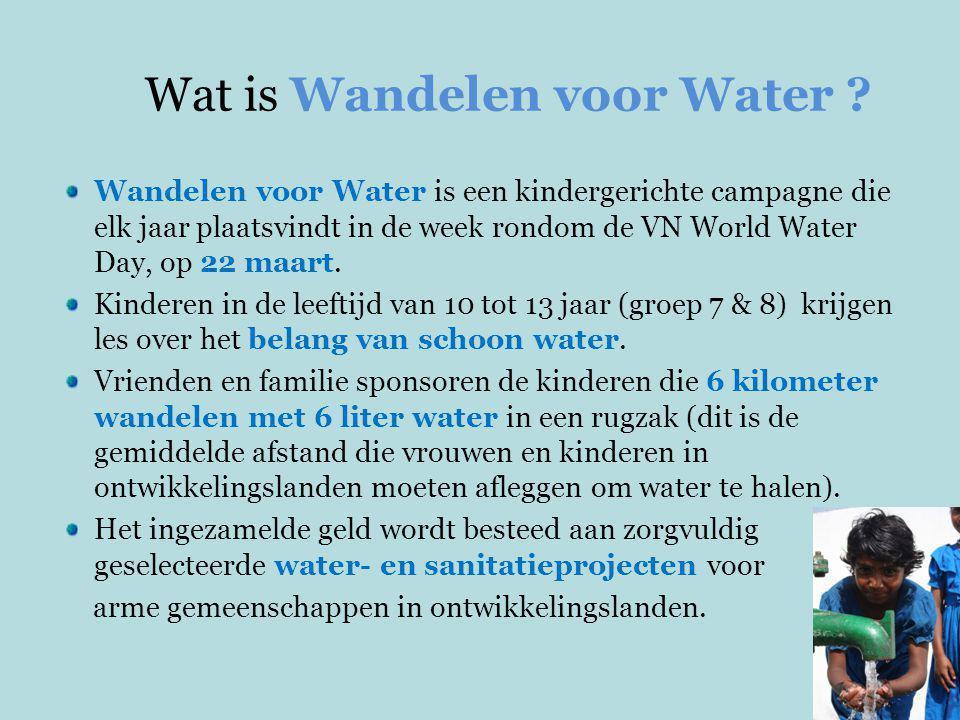 Afgelopen week hebben bijna 27.000 Nederlandse kinderen over het hele land gelopen en zo'n €1,5 miljoen ingezameld voor water projecten in Afrika en Azië.