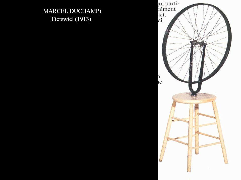 MARCEL DUCHAMP) Fietswiel (1913)