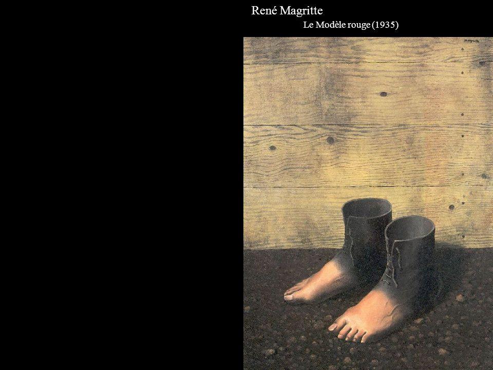 René Magritte Le Modèle rouge (1935)
