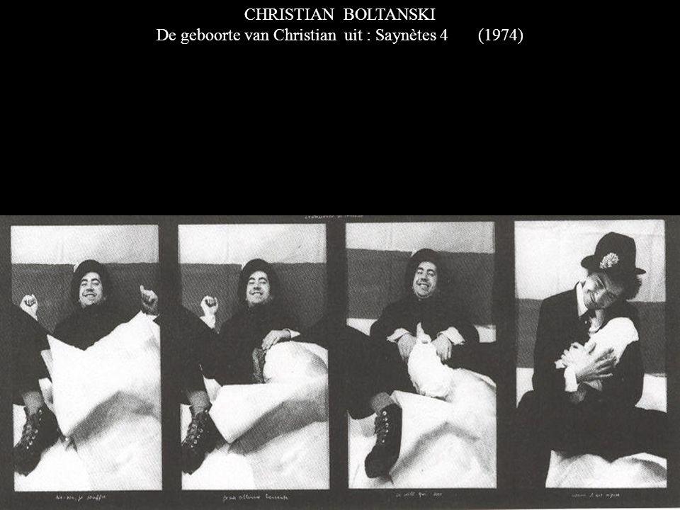 CHRISTIAN BOLTANSKI De geboorte van Christian uit : Saynètes 4 (1974)