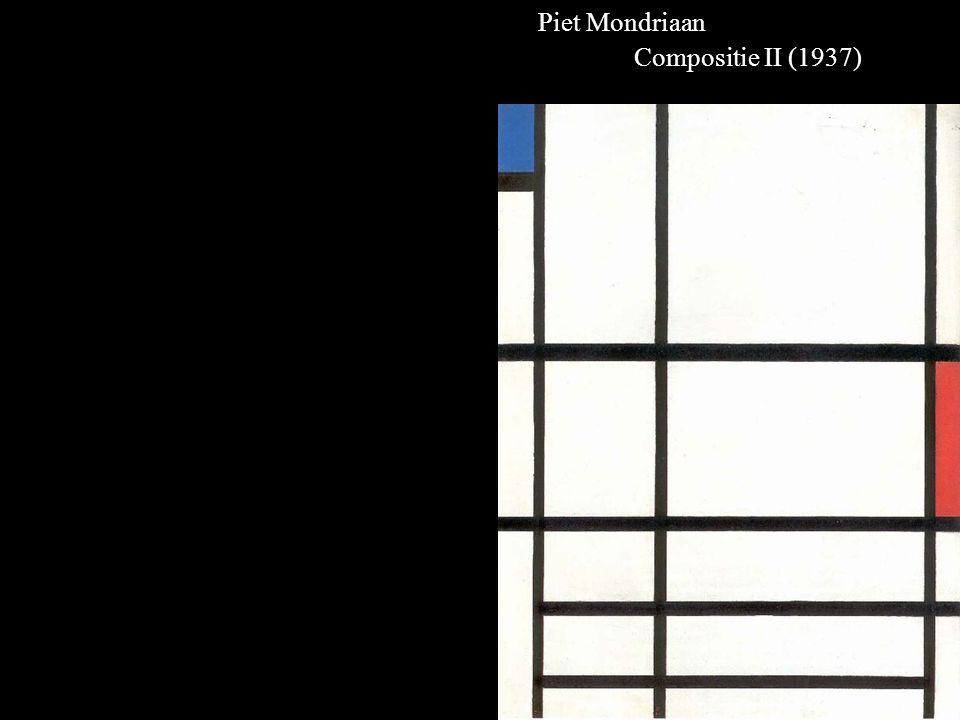 Piet Mondriaan Compositie II (1937)