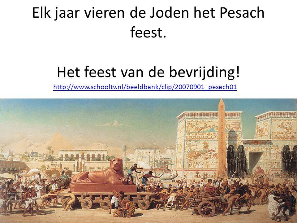 Elk jaar vieren de Joden het Pesach feest. Het feest van de bevrijding.