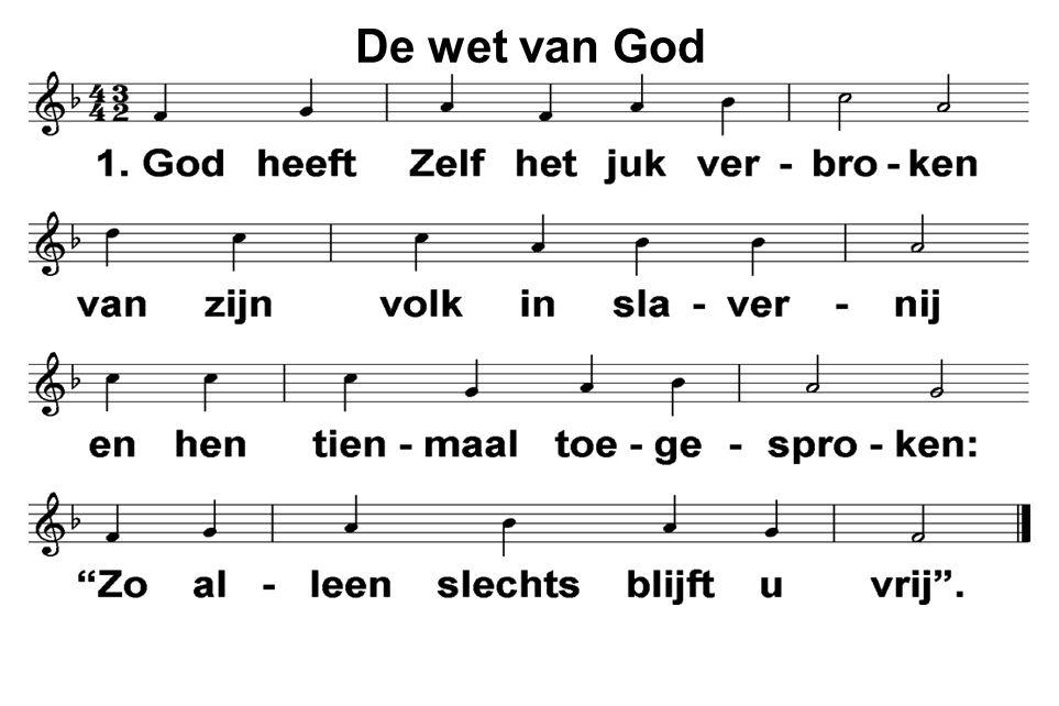 De wet van God