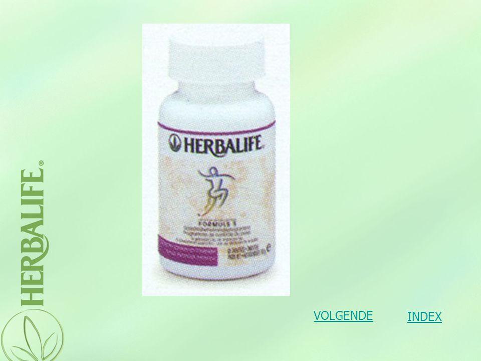 Formule 3: Vitaminen en mineralen Formule 3 is een eventuele aanvulling van de voedingsbronnen van het lichaam.