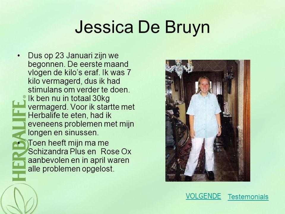 Jessica De Bruyn Dank u Herbalife dat je in mijn leven bent gekomen.