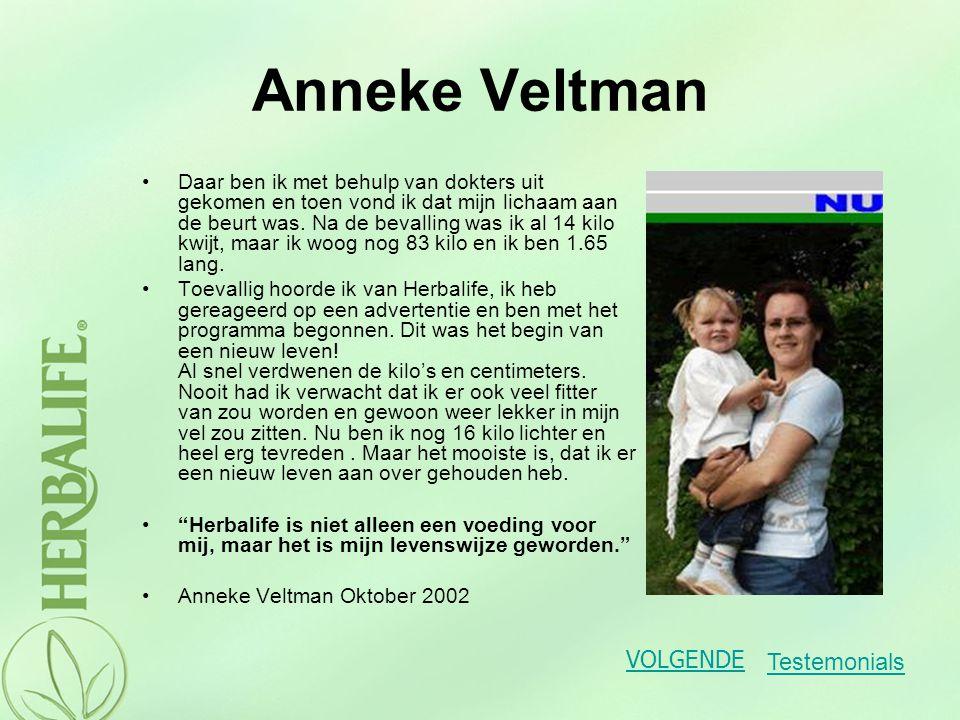Anneke Veltman Daar ben ik met behulp van dokters uit gekomen en toen vond ik dat mijn lichaam aan de beurt was. Na de bevalling was ik al 14 kilo kwi