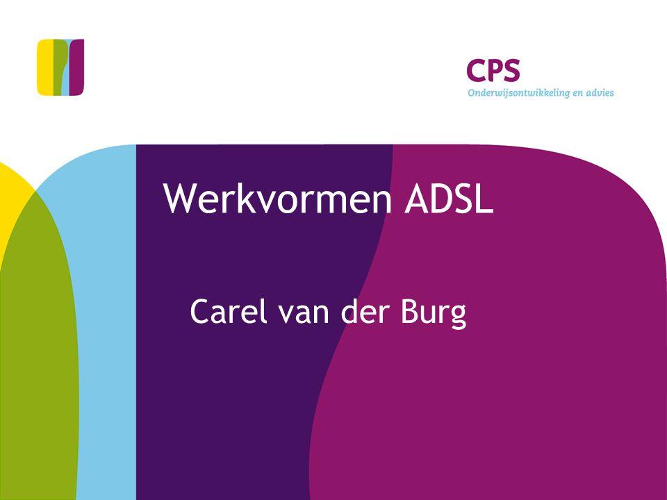 Werkvormen ADSL Carel van der Burg
