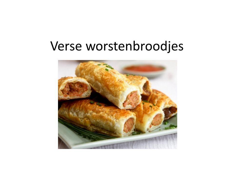 Verse worstenbroodjes